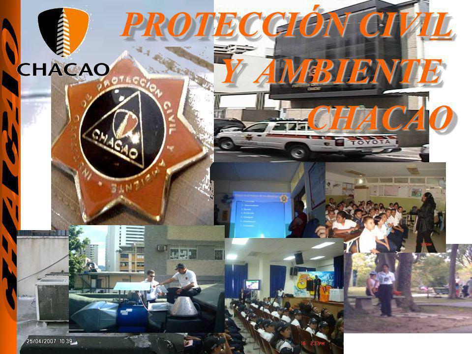 PROTECCIÓN CIVIL Y AMBIENTE CHACAO