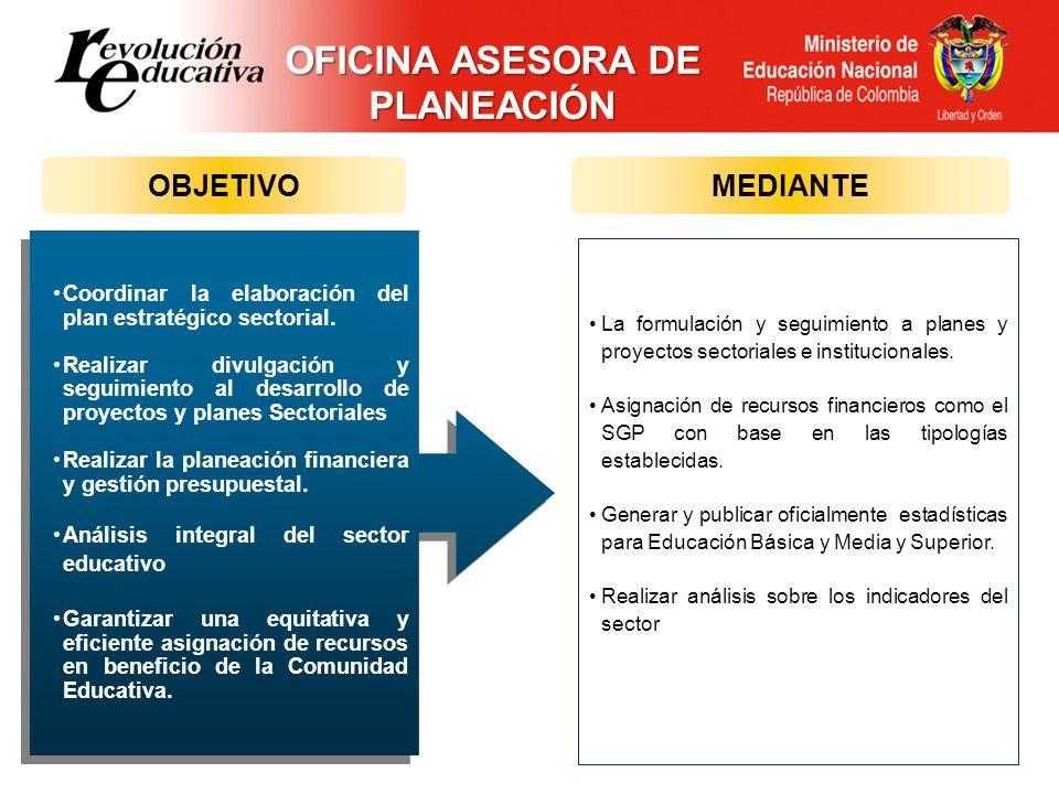 OFICINA ASESORA DE PLANEACIÓN