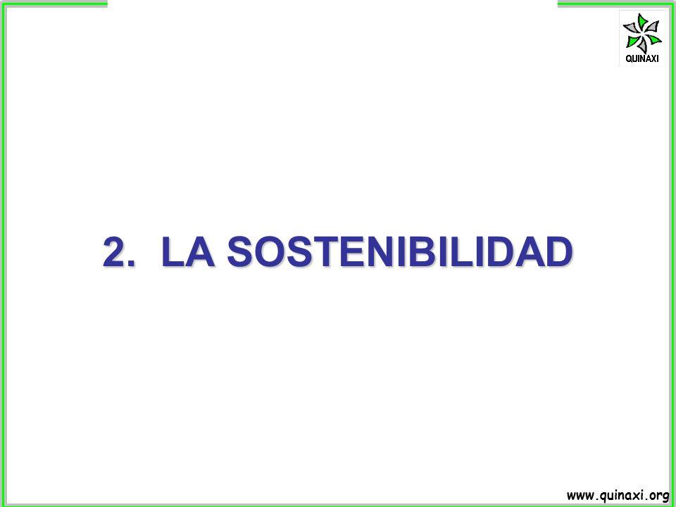 2. LA SOSTENIBILIDAD
