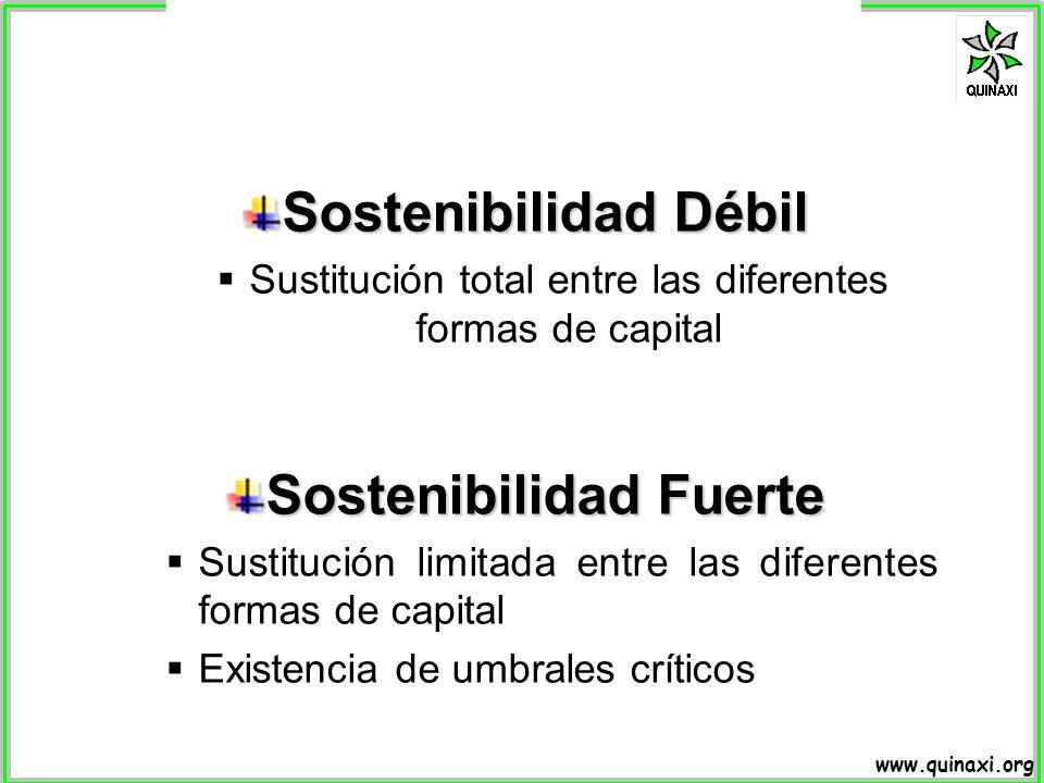 Sostenibilidad Fuerte