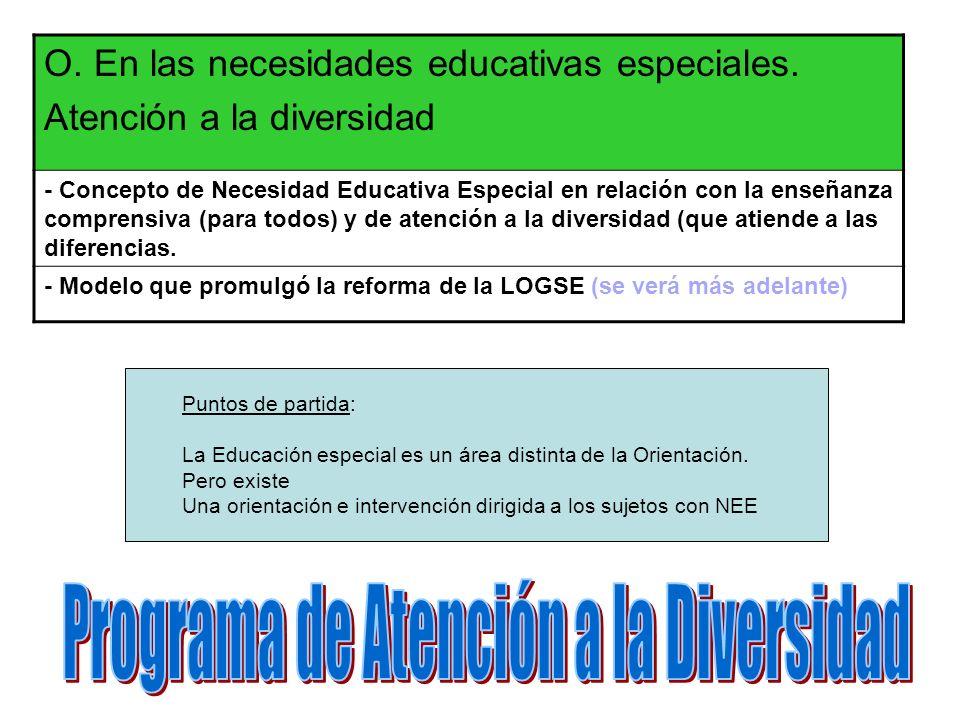 Programa de Atención a la Diversidad