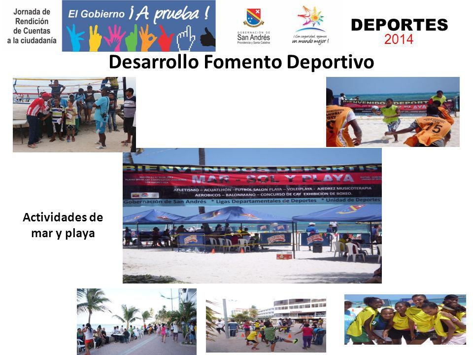 Desarrollo Fomento Deportivo