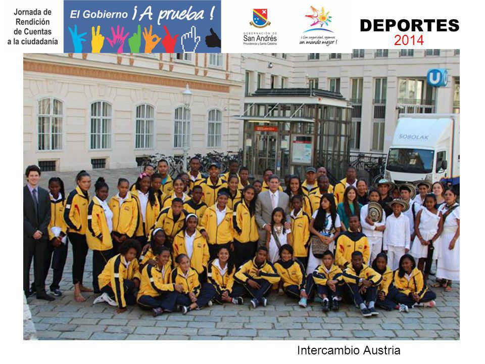 DEPORTES 2014 Intercambio Austria