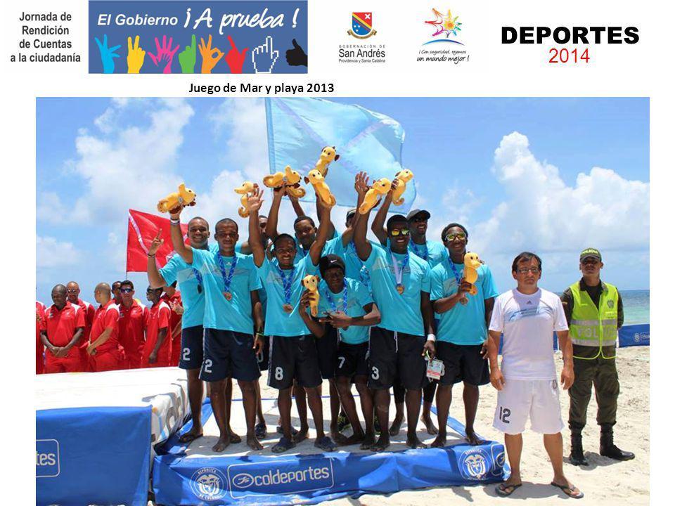 DEPORTES 2014 Juego de Mar y playa 2013