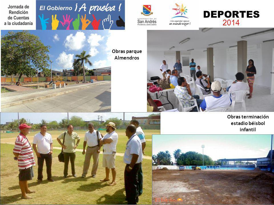Obras parque Almendros
