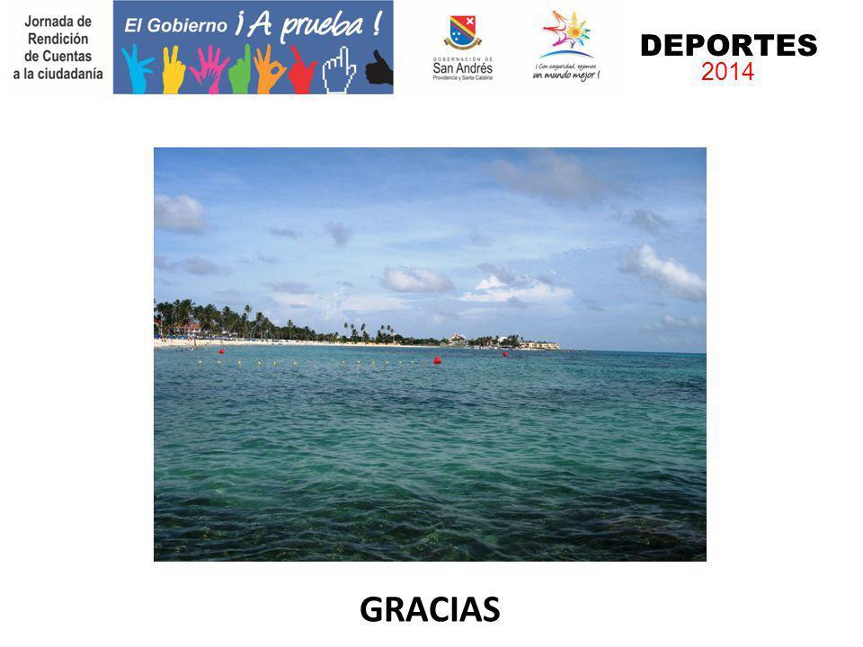 DEPORTES 2014 GRACIAS