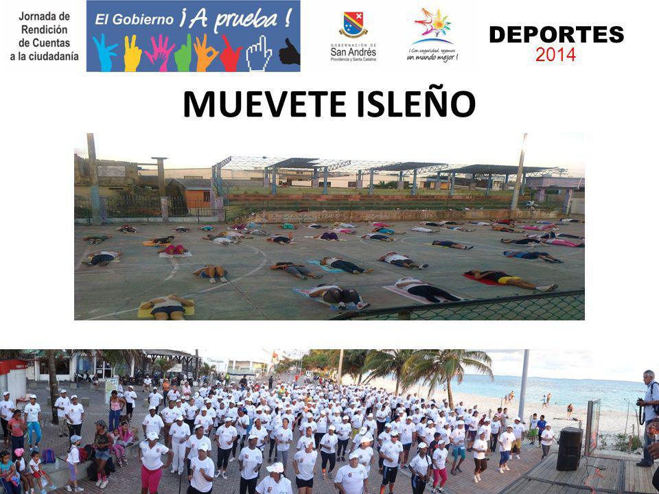 DEPORTES 2014 MUEVETE ISLEÑO