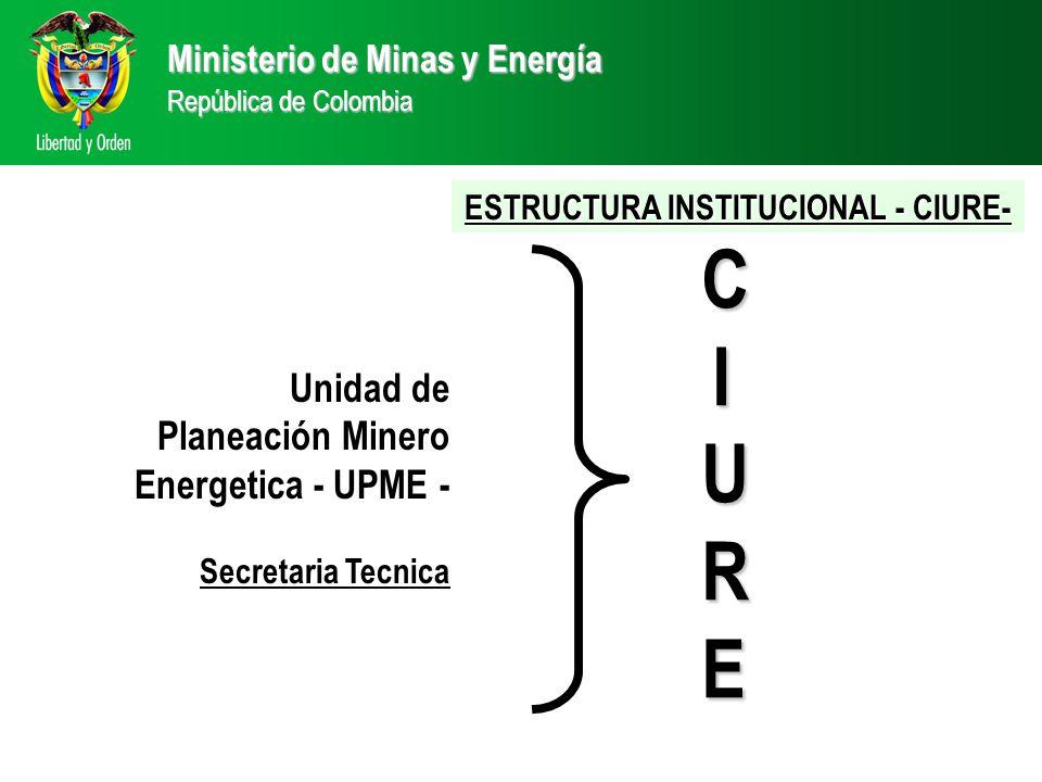 ESTRUCTURA INSTITUCIONAL - CIURE-