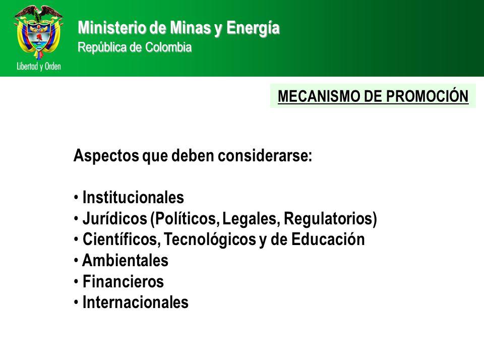 MECANISMO DE PROMOCIÓN