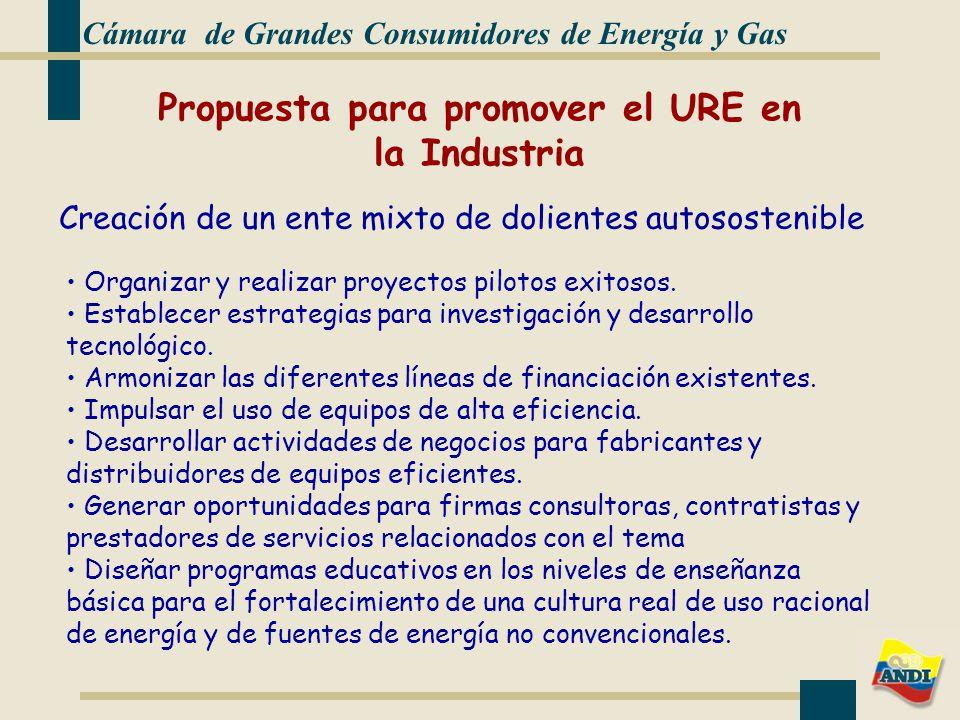 Propuesta para promover el URE en la Industria