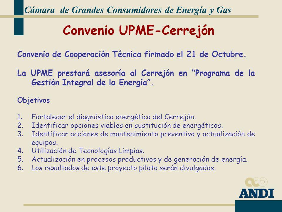 Convenio UPME-Cerrejón