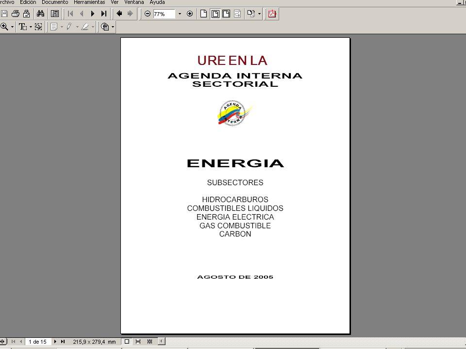 Resultados del TLC en relación con el sector energético