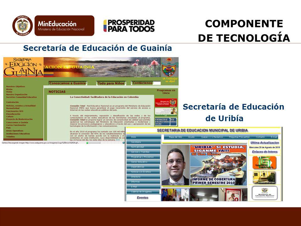 COMPONENTE DE TECNOLOGÍA