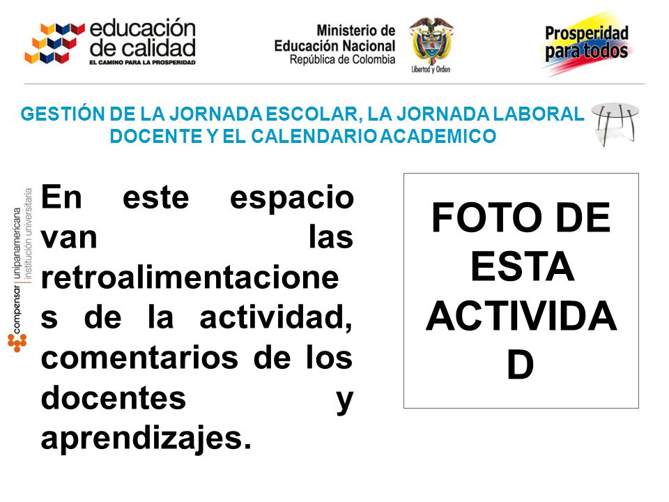 GESTIÓN DE LA JORNADA ESCOLAR, LA JORNADA LABORAL DOCENTE Y EL CALENDARIO ACADEMICO