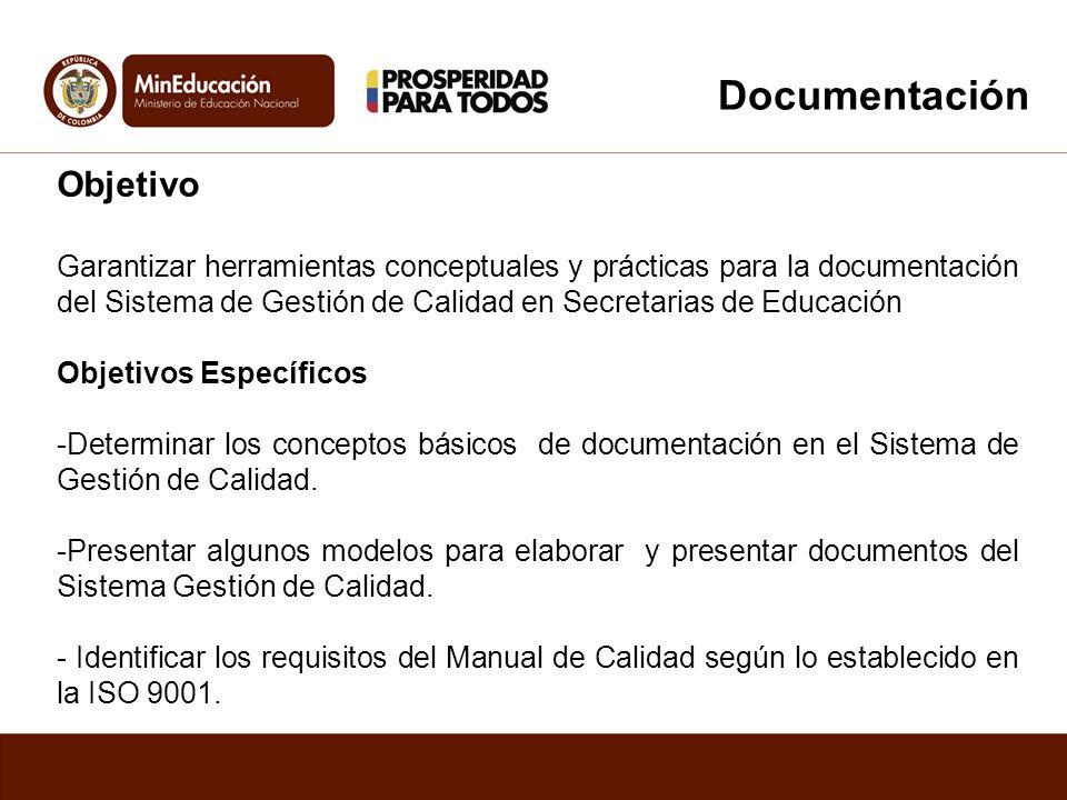 Documentación Objetivo