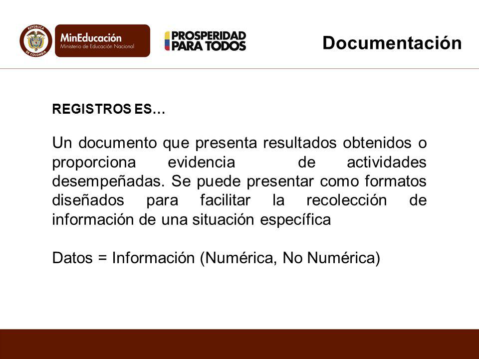 Documentación REGISTROS ES…