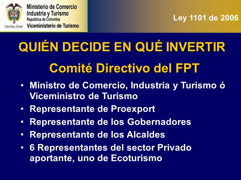 Representantes del sector privado elegidos