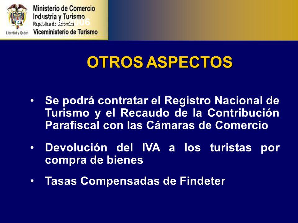 PROYECTOS DE LEY Incentivos al Turismo Segunda Vivienda