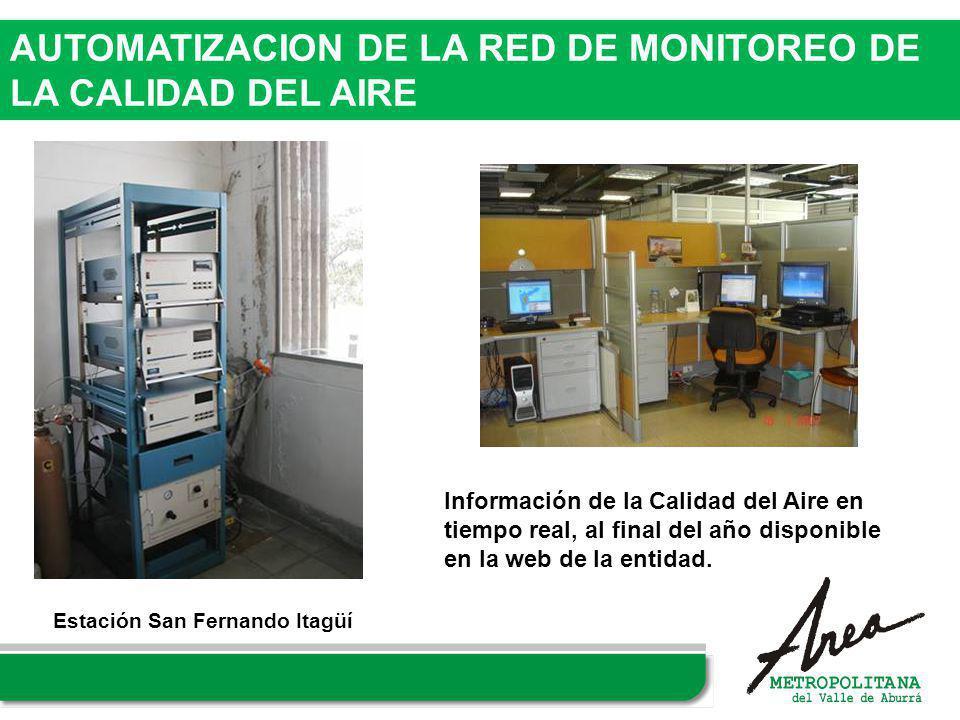 AUTOMATIZACION DE LA RED DE MONITOREO DE LA CALIDAD DEL AIRE