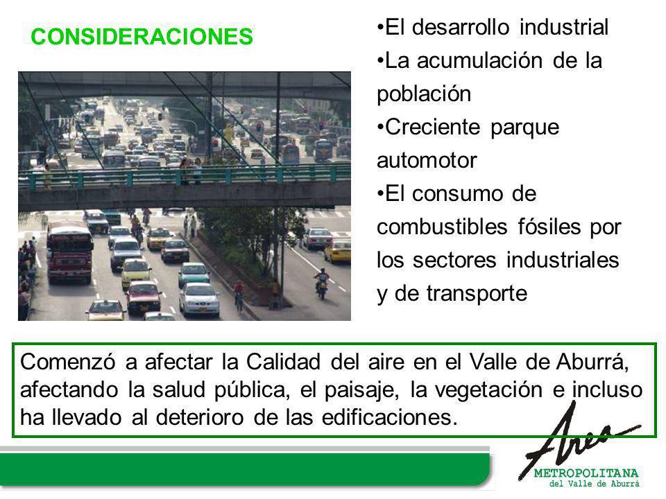 El desarrollo industrial