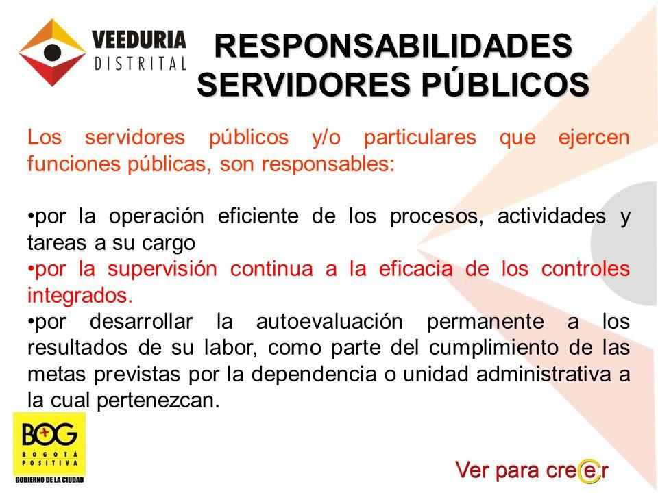 RESPONSABILIDADES SERVIDORES PÚBLICOS