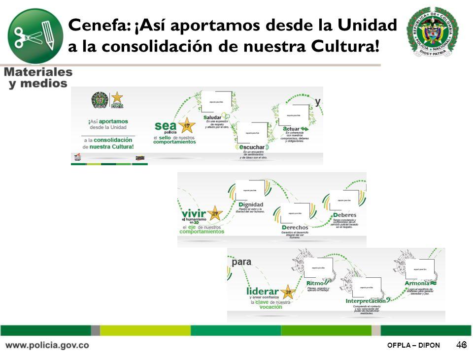 Cenefa: ¡Así aportamos desde la Unidad a la consolidación de nuestra Cultura!