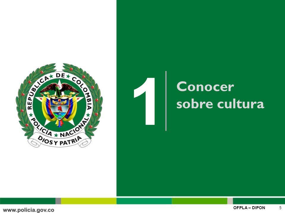 1 Conocer sobre cultura.