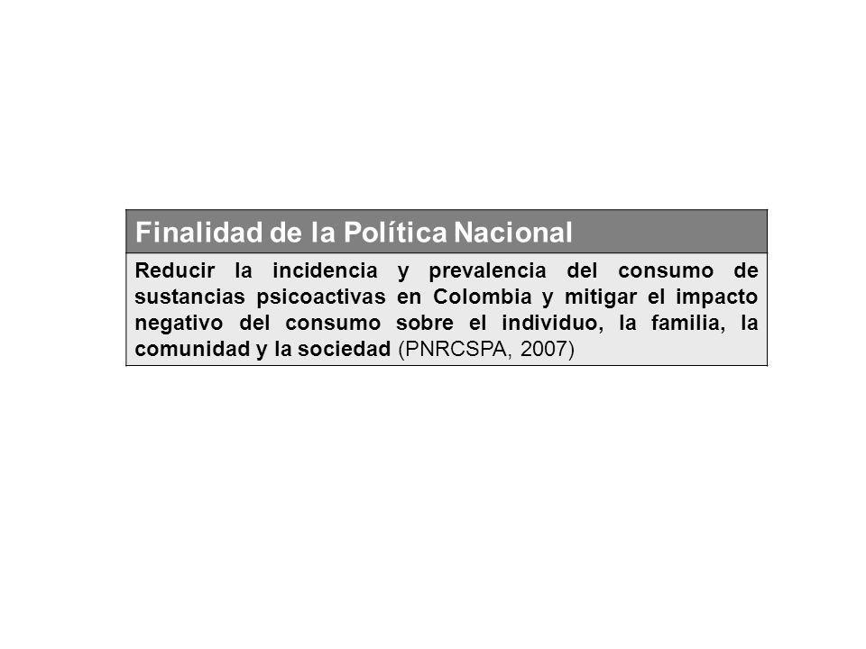 Finalidad de la Política Nacional