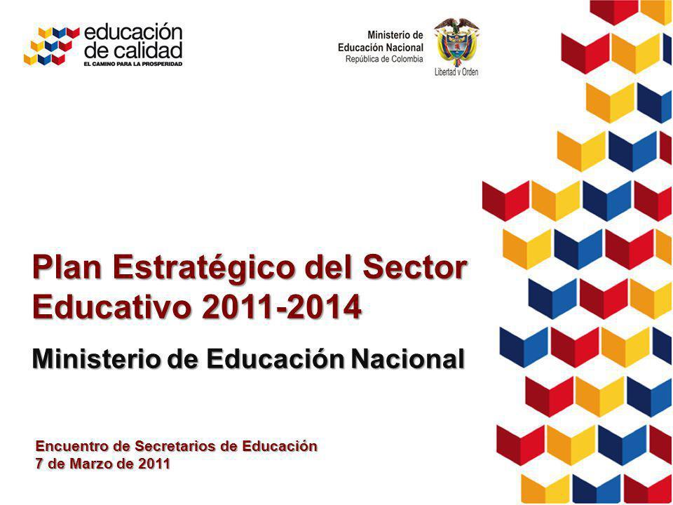 Plan Estratégico del Sector Educativo 2011-2014