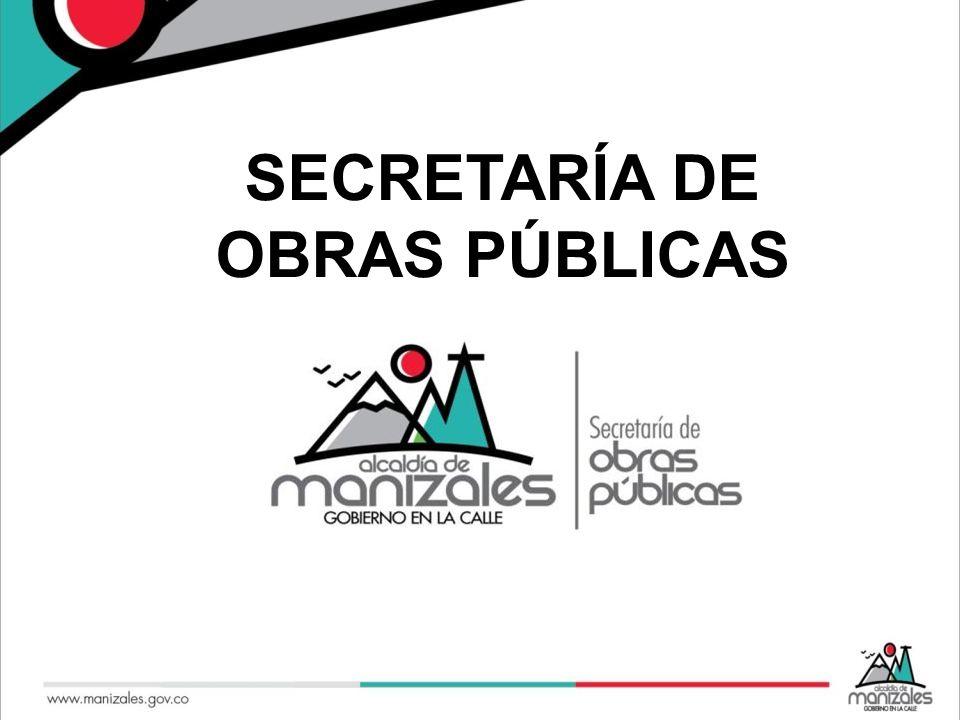 SECRETARÍA DE OBRAS PÚBLICAS