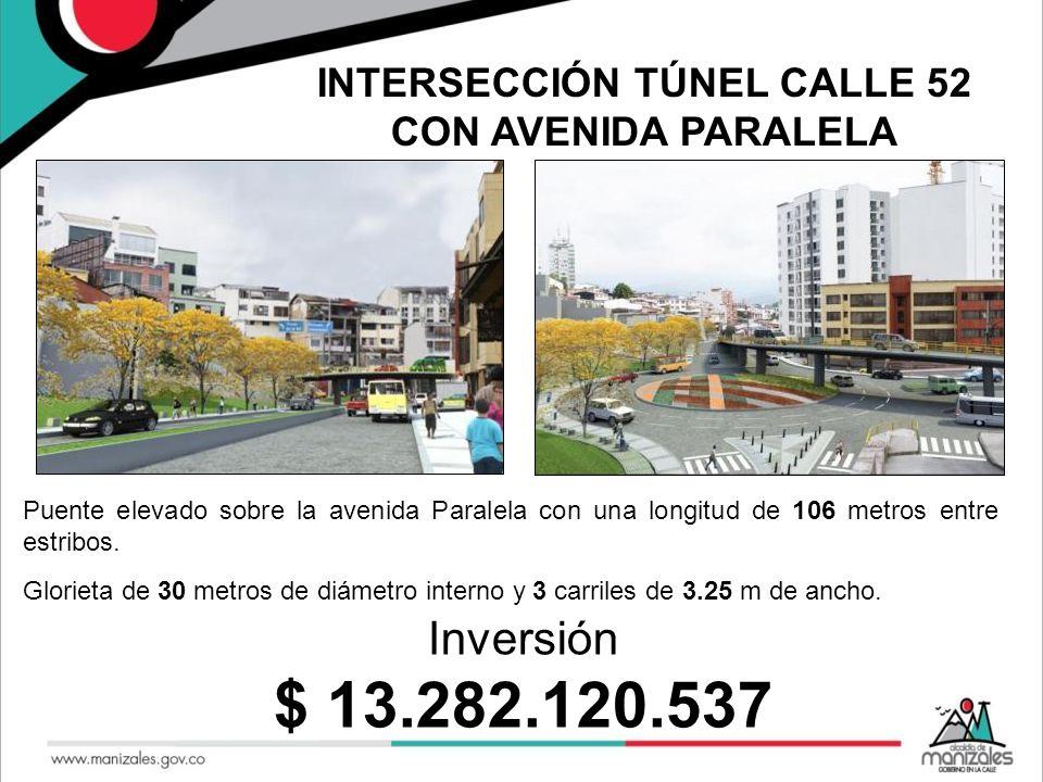 INTERSECCIÓN TÚNEL CALLE 52