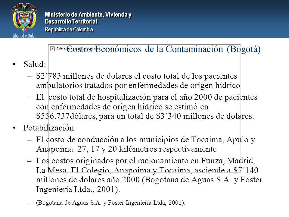 Costos Económicos de la Contaminación (Bogotá)