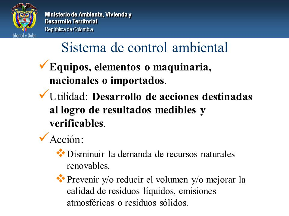 Sistema de control ambiental