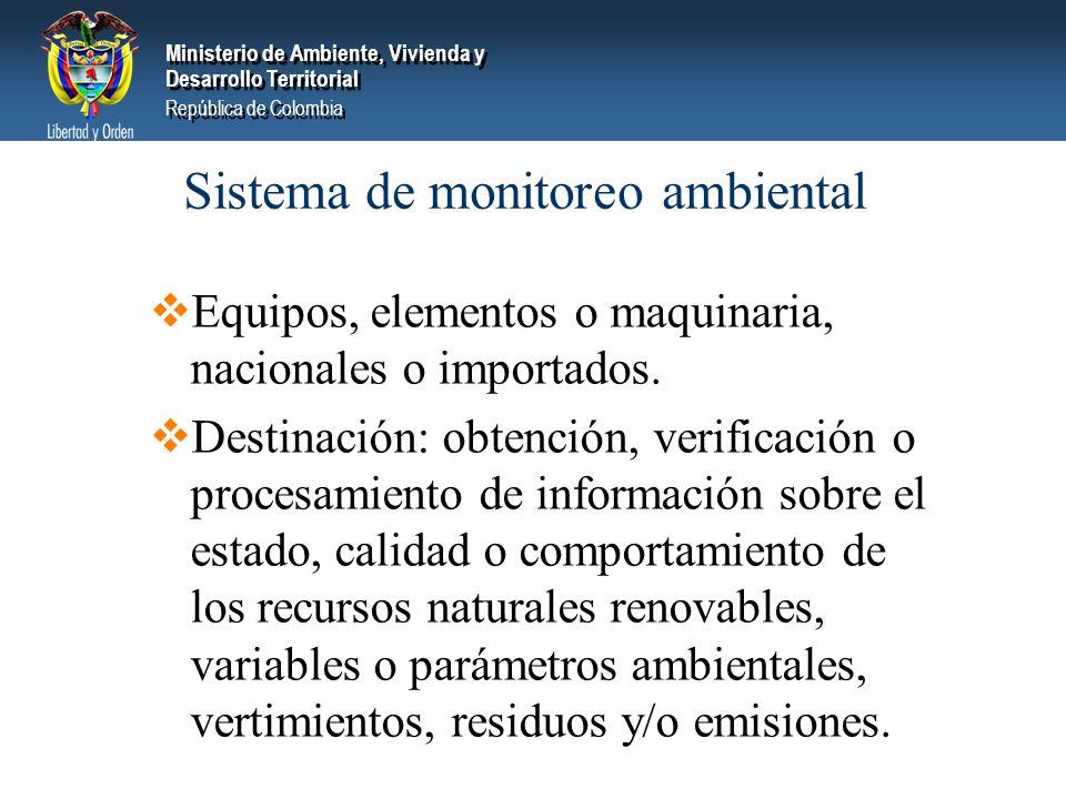Sistema de monitoreo ambiental