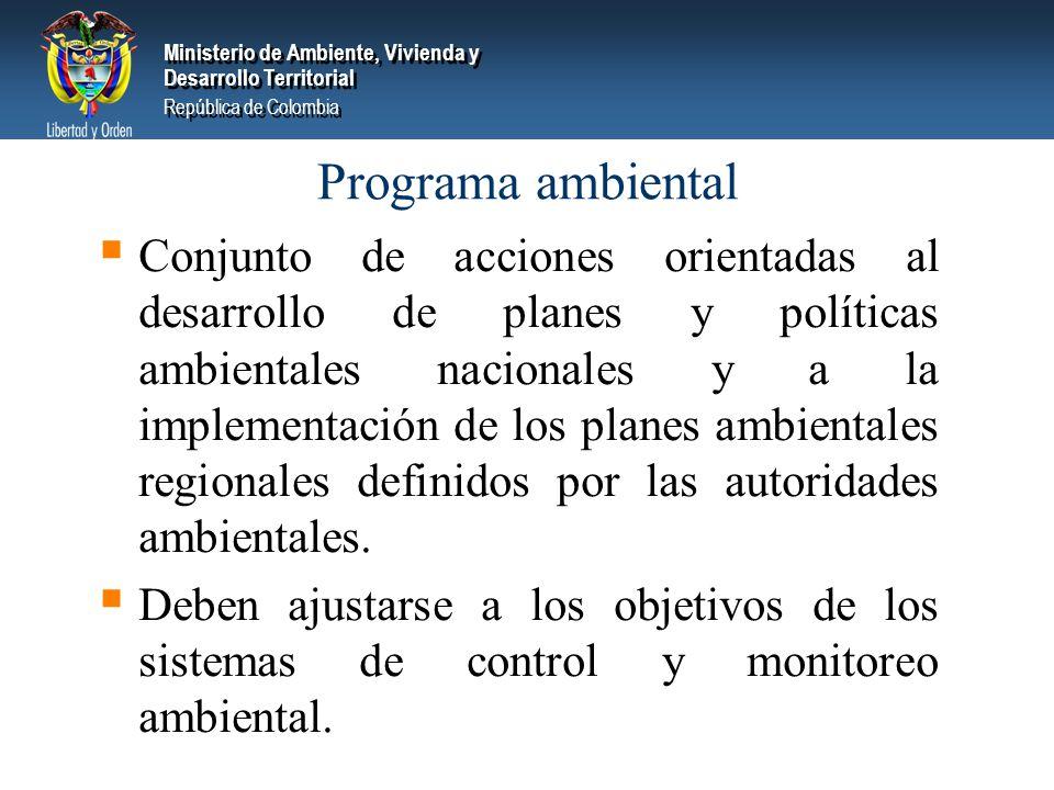 Programa ambiental