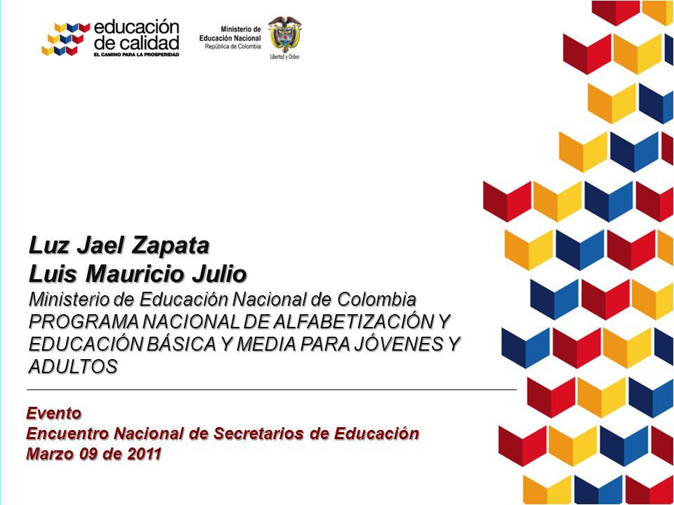 Luz Jael Zapata Luis Mauricio Julio