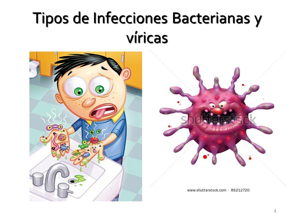 Tipos de Infecciones Bacterianas y víricas