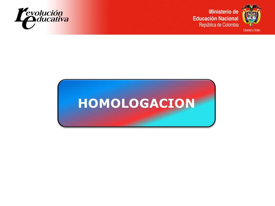 HOMOLOGACION