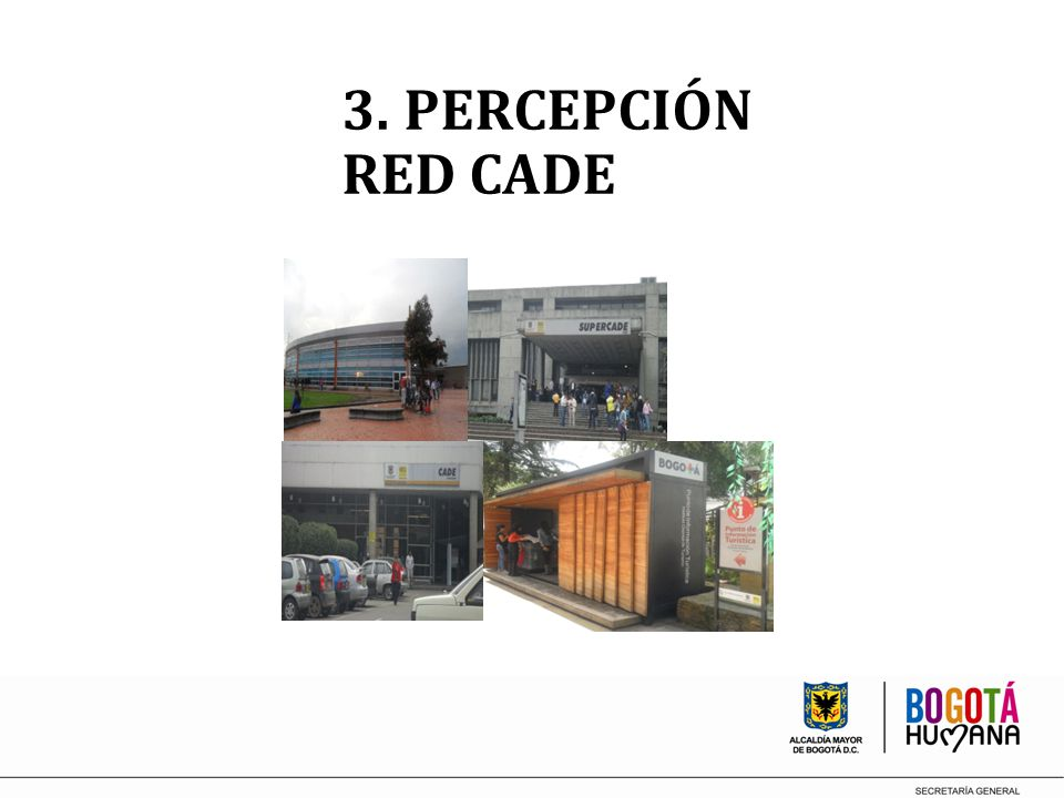 3. PERCEPCIÓN RED CADE
