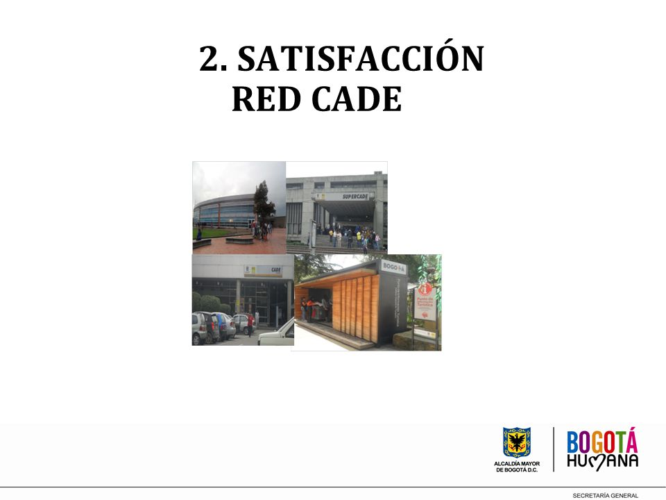 2. SATISFACCIÓN RED CADE