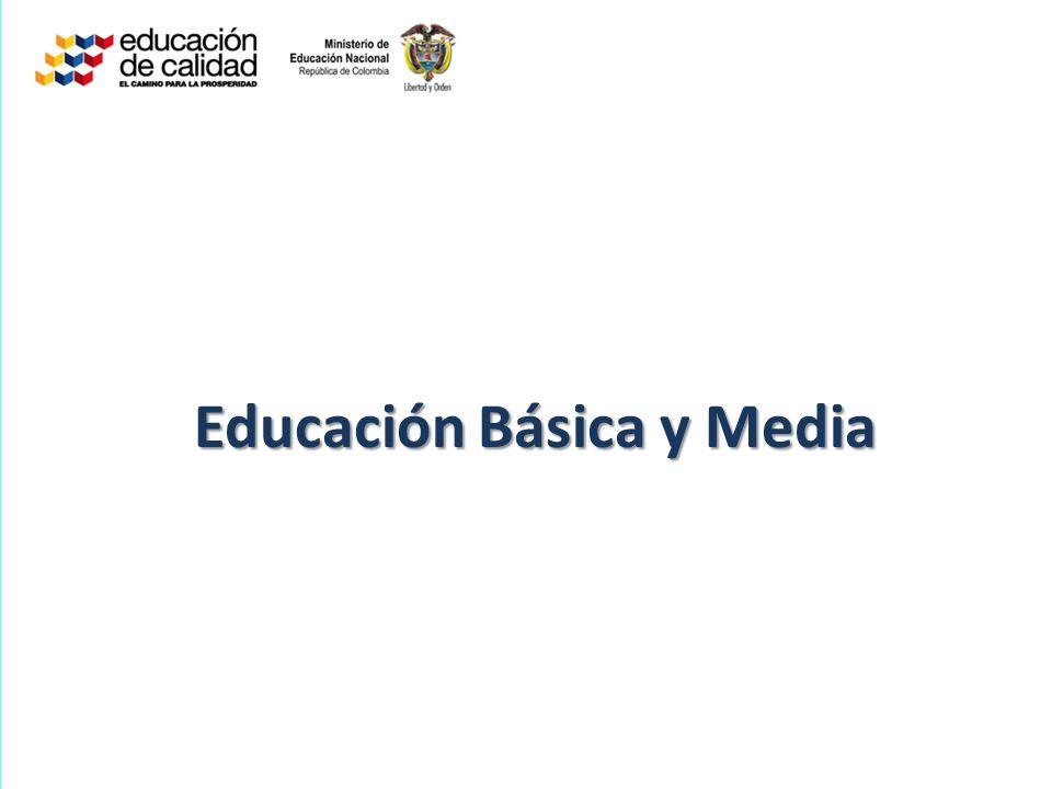 Educación Básica y Media