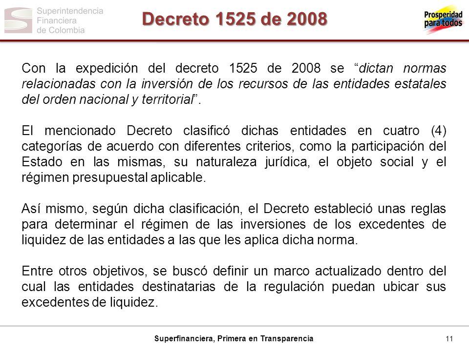 Decreto 1525 de 2008