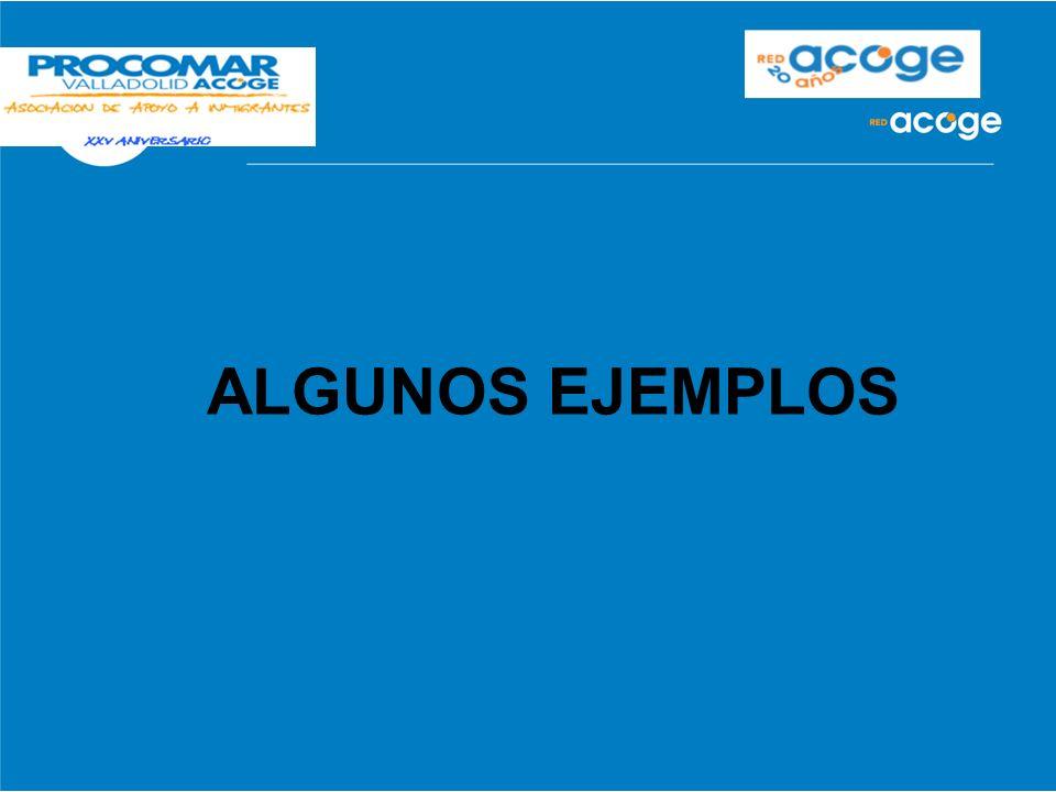 ALGUNOS EJEMPLOS 17 17