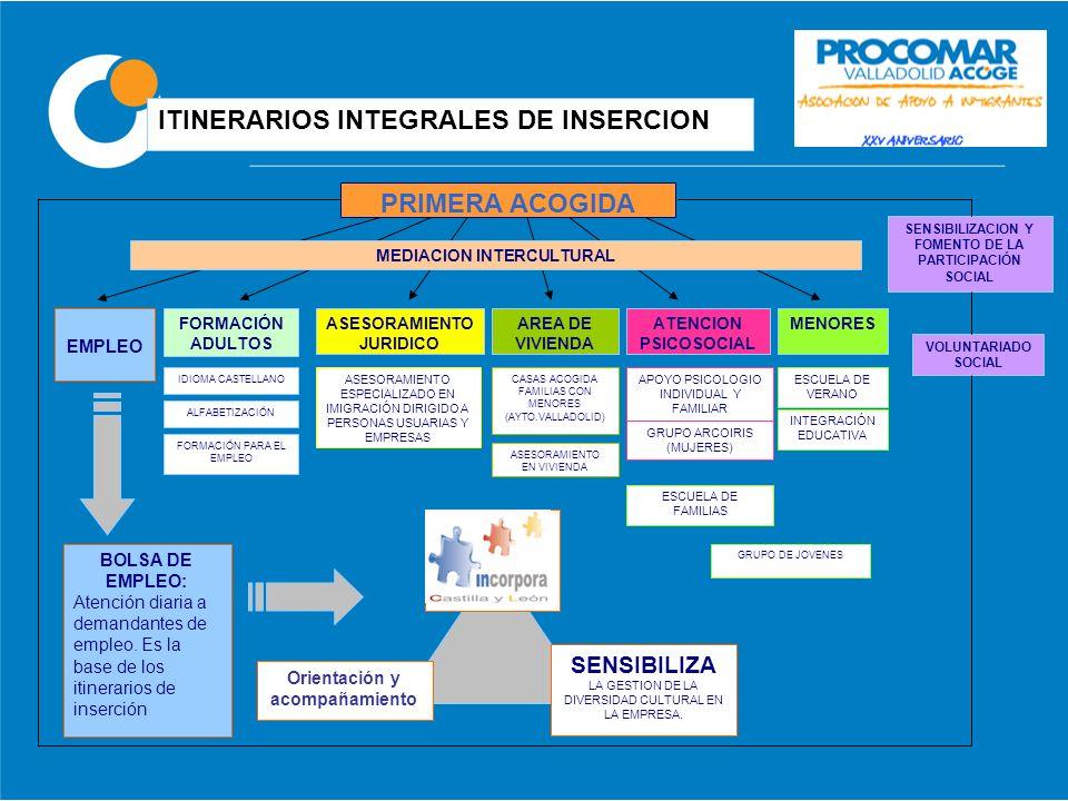 ITINERARIOS INTEGRALES DE INSERCION
