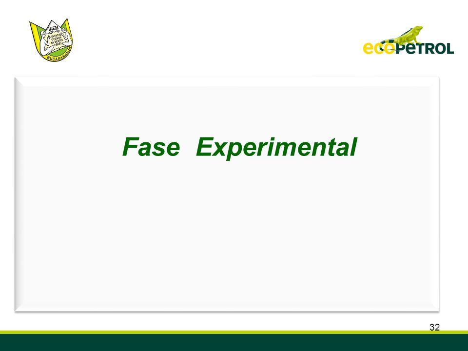 Fase Experimental