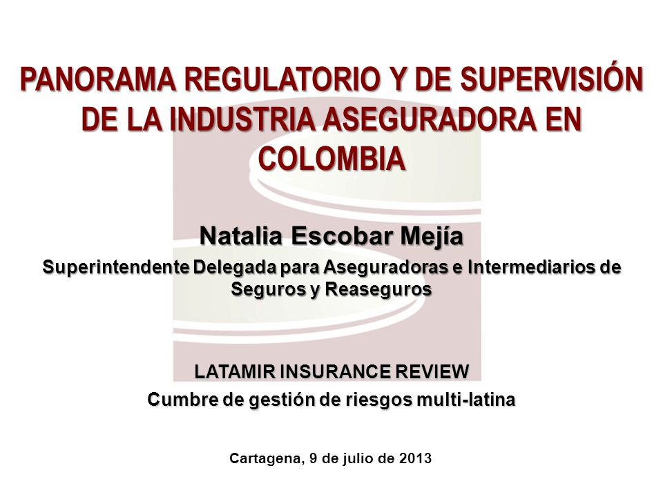 LATAMIR INSURANCE REVIEW Cumbre de gestión de riesgos multi-latina