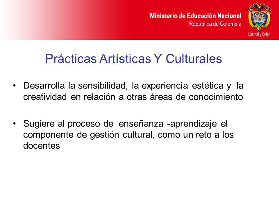 Prácticas Artísticas Y Culturales
