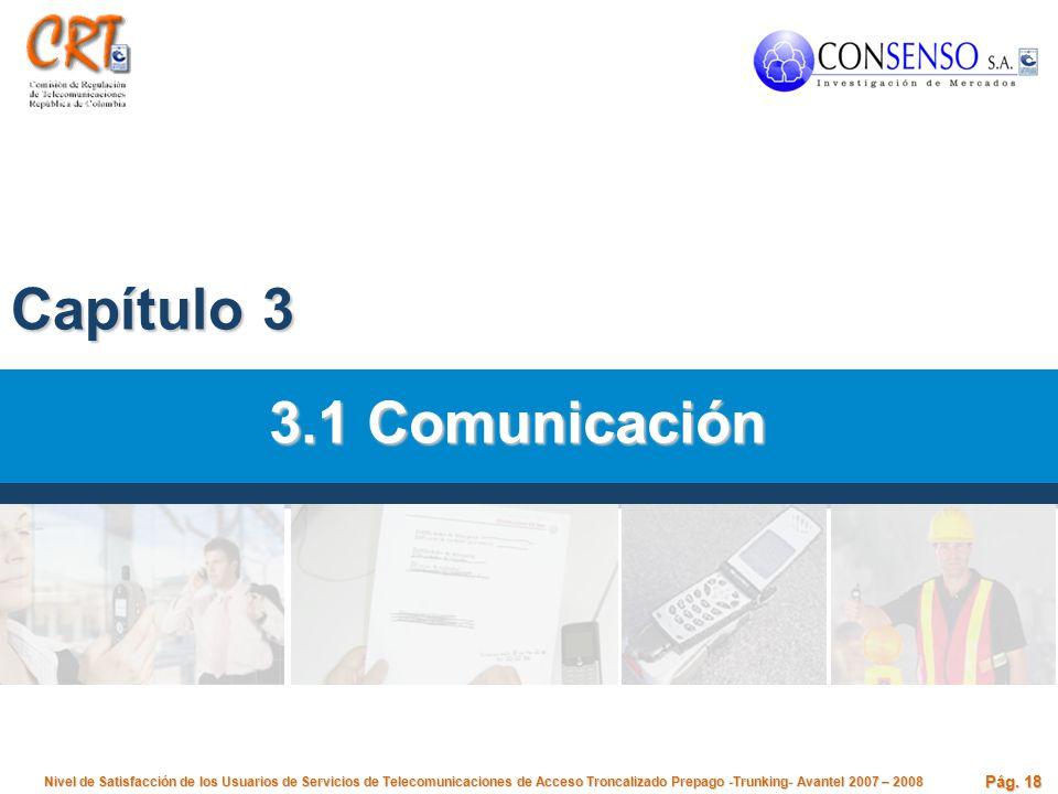 Capítulo 3 3.1 Comunicación