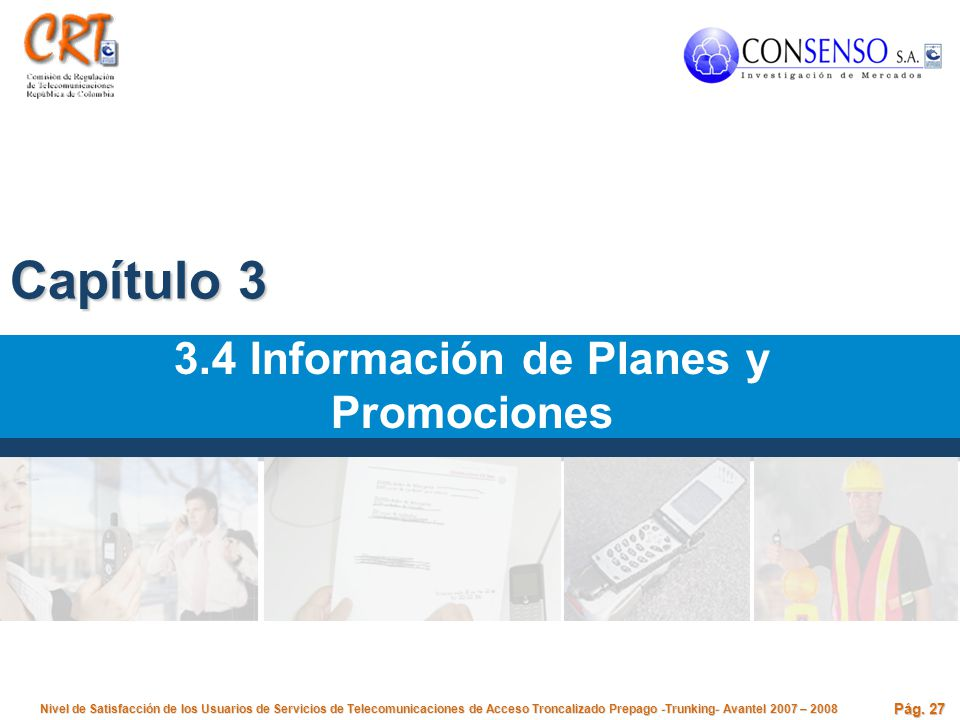3.4 Información de Planes y Promociones