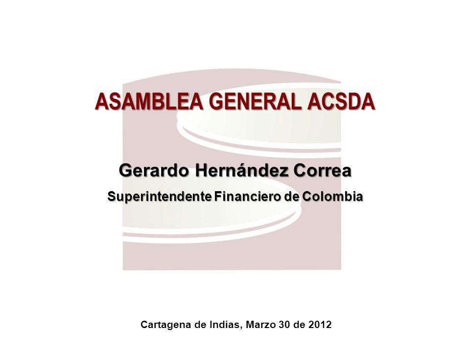 ASAMBLEA GENERAL ACSDA